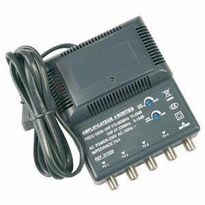Amplificateur Antenne Tv : amplificateur antenne tv 6 sorties ~ Premium-room.com Idées de Décoration