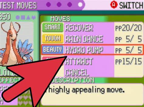 evolve feebas  pokemon emerald  steps