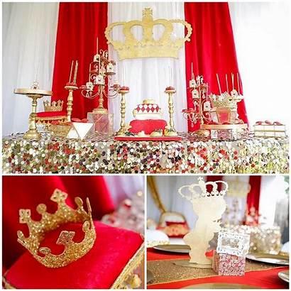 Shower Gold Royal Theme Affair Themes Decorations