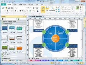 Marketing Plan Charts And Diagrams  Free Download Marketing Plan Diagram Software