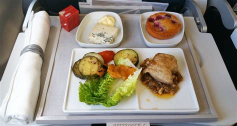 cuisine premium air lenotre meal review economy and business class