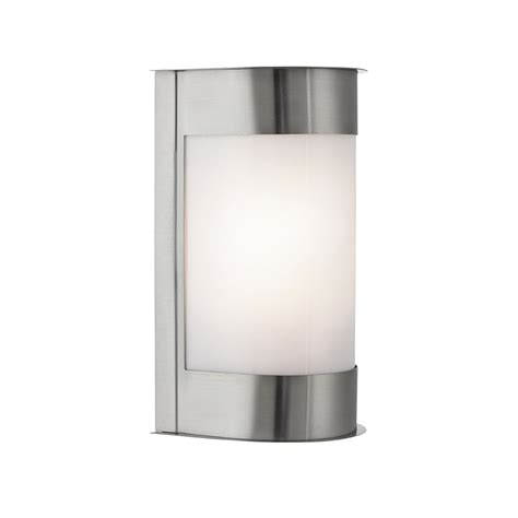 searchlight 4126ss stainless steel outdoor wall light