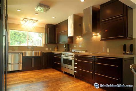 kitchen cabinet espresso color espresso maple rta cabinet hub espresso bean 5398