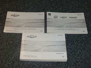 2011 Chevy Impala Owner Operator Manual User Guide Set Lt