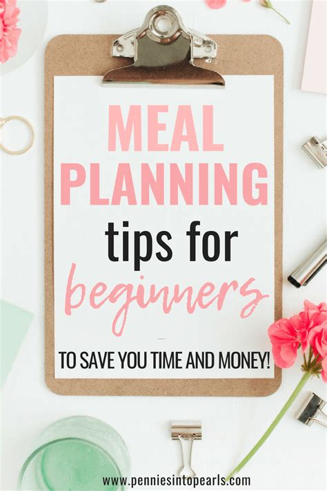 printable meal planning   budget toolkit