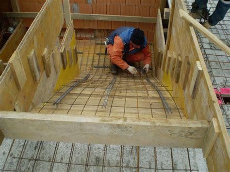 betontreppe schalung herstellen monsterhaus ortbetonstiege berechne und schalen