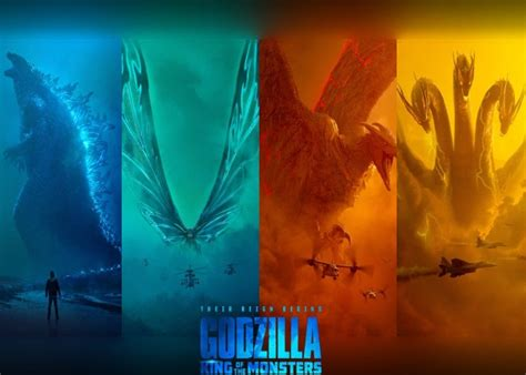 New Godzilla 2019 Movie King Of The Monsters Trailer