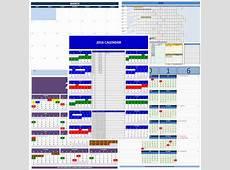 Islamic Calendar Excel Templates