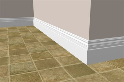 Bathroom Tile Baseboard Ideas