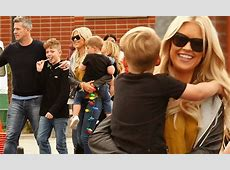 Christina El Moussa and new husband Ant Anstead take the