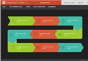 Process Flow Diagram Infographic Maker Template For Powerpoint