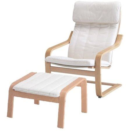 Poang Armchair Cover by Ikea Poang Chair Armchair And Footstool Set With Covers