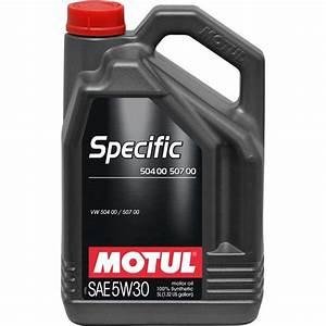 Huile Moteur Essence : huile moteur motul specific 504 00 507 00 essence diesel ~ Melissatoandfro.com Idées de Décoration