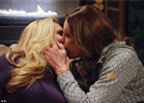 Caitlyn Jenner And Candis Cayne Share A Passionate Kiss On Season Finale Of I Am Cait Daily