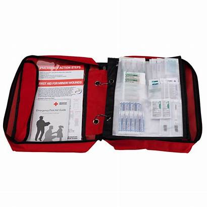 Aid Kit Cross Deluxe Redcross Supplies American
