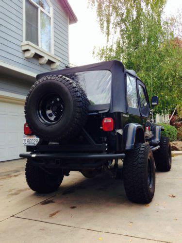 sell   black jeep wrangler yj  santa cruz