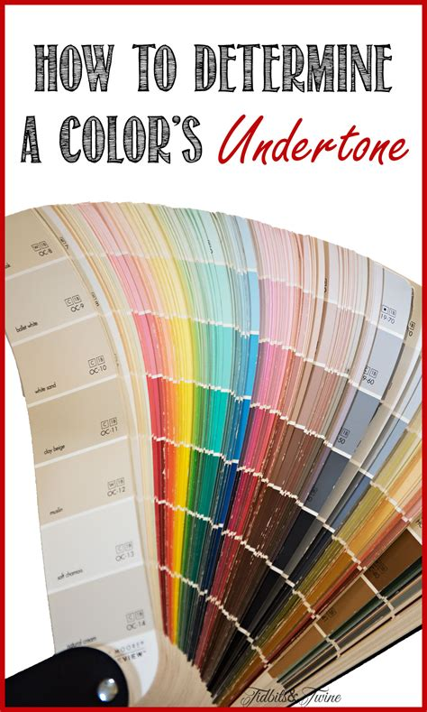choosing color how to find the undertone