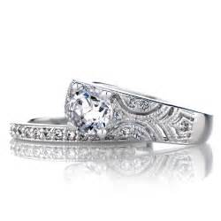vintage wedding ring sets vintage engagement rings sets 2