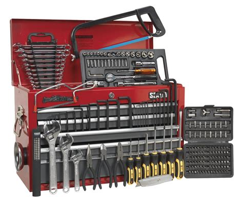 Sealey Top Tool Chest Box + Tools Kit Set Ap22509bbcomb Ebay