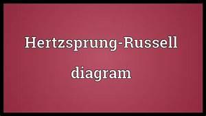 Hertzsprung-russell Diagram Meaning