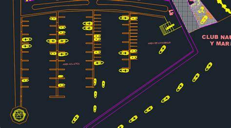 yatch club  dwg design section  autocad designs cad