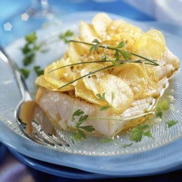 recette de cuisine avec du poisson 60 recettes légères et savoureuses à base de poisson pavé de cabillaud en éventail de pomme de