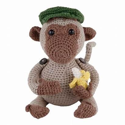 Amigurumi Jimmi Kit Singe Crochet Mono Kits