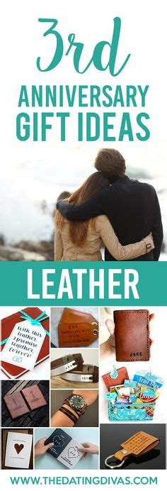 3rd anniversary gift ideas for leather 3rd anniversary gifts for him traditional