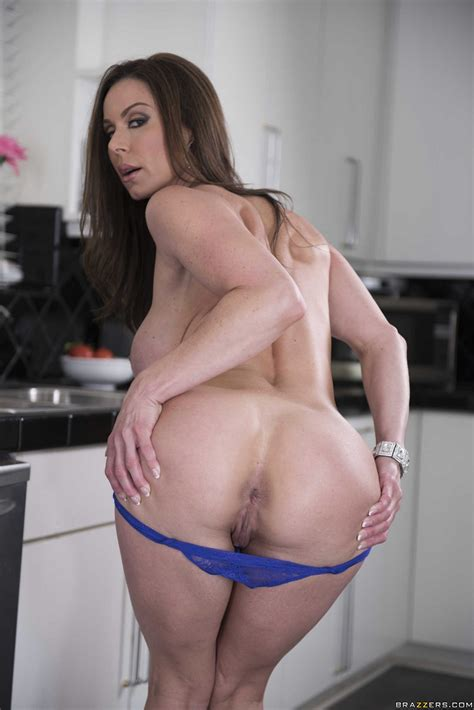 Kendra Lust In Purple Dress And Sexy Heels Strips In The