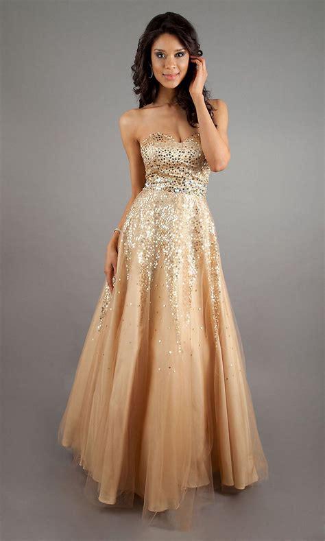 Goldpromdress  Aesthetic Gold Formal Dresses For The