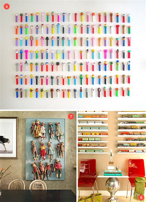 cool collections  creative ways  display