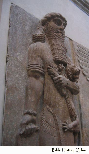 statue   palace  king sargon ii images  ancient
