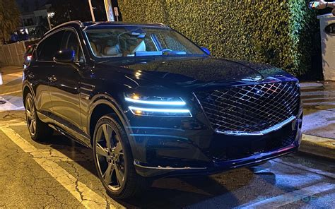 For the 2021 Genesis GV80, the brand's first SUV, one ...
