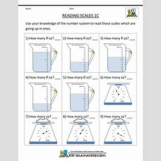 First Grade Measurement Worksheets