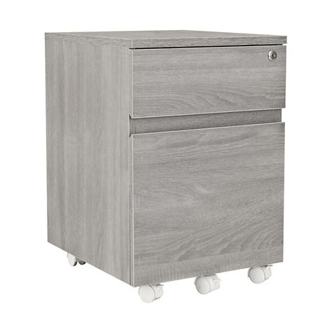 cabinet with lock techni mobili grey rolling 2 drawer vertical filing