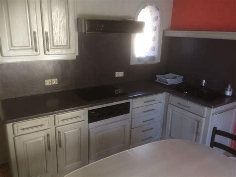 cuisine renovation plan de travail réalisations relooking d 39 une cuisine en chêne avec