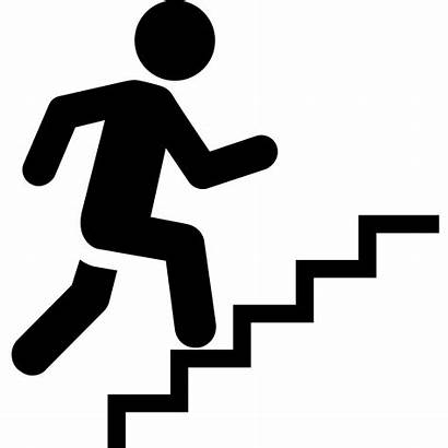 Stairs Clipart Icon Climbing Staircase Stair Steps