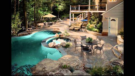 diseno de jardines modernos  piscina hd  arte