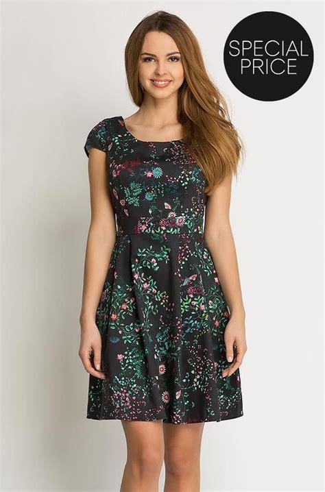 kleider kleid mit glockenschnitt orsay fashion