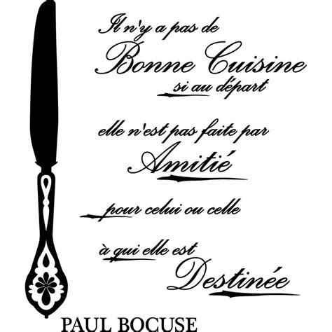 bonne cuisine sticker citation bonne cuisine si au départ paul