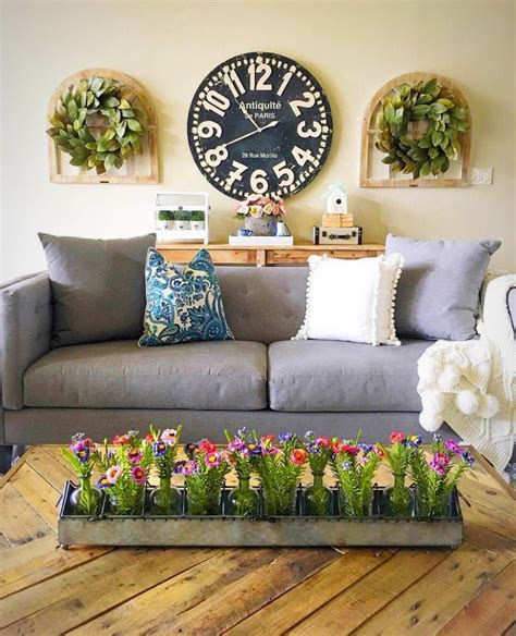 These fifty wooden wall décor finds add the rustic, not the usual, into your home. 33 Best Rustic Living Room Wall Decor Ideas and Designs for 2020