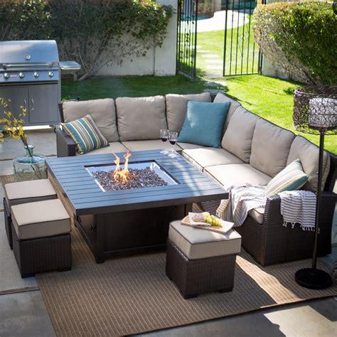 patio pit set belham living monticello pit chat set pit