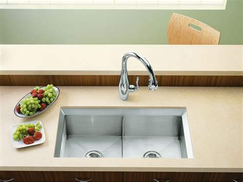 kitchen sink with cutting board standard plumbing supply product kohler k 3159 na poise