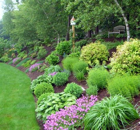 how to landscape a slope landscape steep backyard hill pictures landscaping ideas gt garden design gt pictures gardening