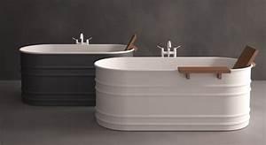 Petite Baignoire Retro : vieques xs d 39 agape comme un tub i styles de bain ~ Edinachiropracticcenter.com Idées de Décoration