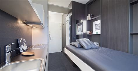 chambre crous résidences étudiantes espace loggia