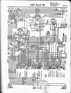 Free Auto Wiring Diagram 1957 Ford V8 Fairlane Custom300 Or Thunderbird Wiring Diagram