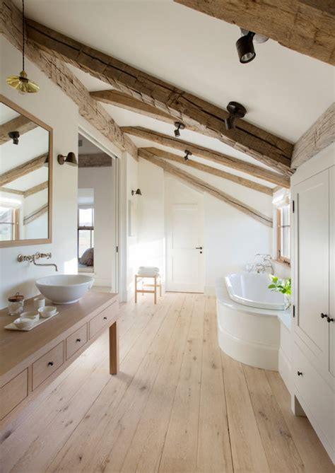 Ceiling Attic by 15 Attics Turned Into Breathtaking Bathrooms