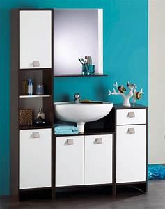 meuble de salle de bain With meuble haut salle de bain wenge