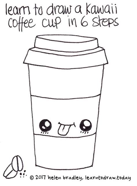 Ohana coffee is sold by pampling for 10€ plus 2€ shipping. Kawaii Style Coffee in Six Steps : Learn To Draw